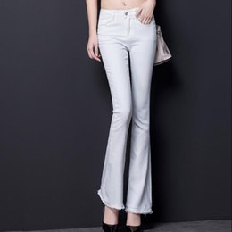 Discount Ladies White Stretch Jeans   2017 Ladies White Stretch ...