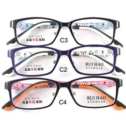 2017 cute eyeglass frames kids glasses eyewear frames children glasses eyeglasses spectacles tr90 material rectangle durable