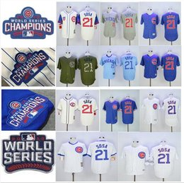 online shopping 2016 World Series Champions Patch sammy sosa Chicago Cubs Throwback Black Gray Green Blue White Baseball Jerseys