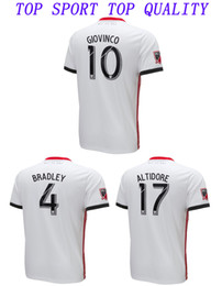 b13ae1287c6 18 19 Toronto FC Soccer Jersey 2018 2019 BRADLEY MORGAN GIOVINCO OSORIO  ALTIDORE Footabll Jersey Mens Top Thai Quality White Football Shirt