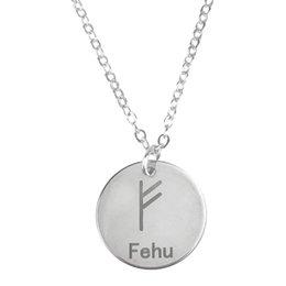 Wicca 24/Viking Runes Scandinavia Irish N/œud Pendentif Collier pour Homme et Femme