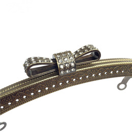 uggage Bags Bag Parts Accessories 18.5cm Kiss Clasp Lock for Women Clutch  Handbag Metal Purse Frame Handle DIY Clasp Hardware d Embo. 349c9e3104a78