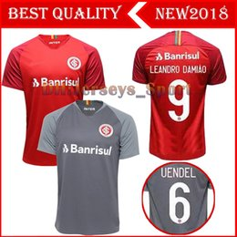 NEW 18 19 Brazil CLUB Internacional soccer jersey RED HOME women 2018 2019  away football shirt N. LOPEZ D.ALESSANDRO POTTKER TOP QUALITY 547ae75d6