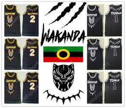 d0ed576b40ca 2018 WAKANDA 1 Tchalla Jersey Men Movie Black Panther Basketball 2  Hillmoager Erik Killmonger Jerseys Sport Team Away hot sale 2019 BEST