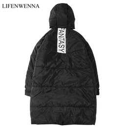 2018 New Arrival Winter Long Warm Jacket Mens Waterproof Brand Clothes  Trend Casual Letter Hooded Coat Mens Solid Parkas Men 5XL 6d332c77f