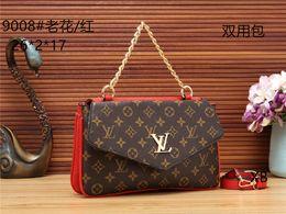 d14254eb47 Fashion ladies dual-use bag V brand luxury handbag PU leather famous  designer bag slung shoulder bag two sides bags