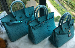 6006eb6960cd ostrich bag shoulder fashion tote crocodile wholesale bride women handbag  tote lady purse JP UK FranceTogo genuine leather bag Paris US EUR