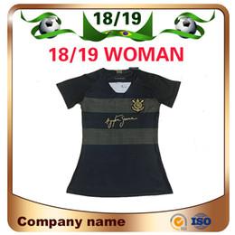 2019 Woman Corinthian Paulista Soccer Jersey 18 19 Third away  10 JADSON Soccer  shirt PABLO BALBUENA ROMERO 3rd Brazil football uniform 3402ed05a
