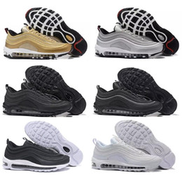 517ff3f65763 new air Running Shoes x Undefeated UNDFTD Gold Silver maxes white balck Metallic  Mens women 97 Casual Sports Sneakers air Eur 36-45