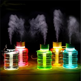 Simulation Bucket Aromatherapy Humidifier Mini Desktop Air Humidifier Diffuser USB Automatic Power-Off Mist Maker Fogger For Home