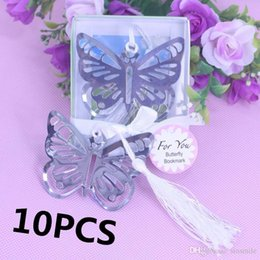 wedding shower gifts for guests nz wholesale 10pcs personalised butterfly bookmark favors for baptism