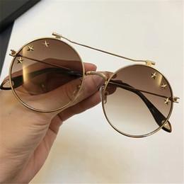 66f563f064f Round Star Designs NZ - Luxury 7079 Sunglasses For Women Fashion Brand  Design Retro Style With