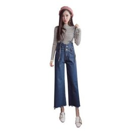 0e8535e6bb9 2017 Streetwear Womens Overalls Jeans Pants Fashion Lady Denim Jumpsuits  Female Rompers Loose Jeans Trousers Blue