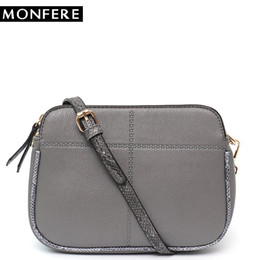 3b47605f9f Ladies Side Bags NZ - MONFERE Fashion Women Handbag Vegan Leather Messenger  Bag Ladies Flap Shoulder