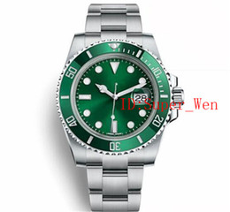 Top Luxury Watch Ceramic Bezel Mechanical Stainless Steel 116610 116619 Automatic A2813 Movement Sports Self-wind Mens Watches Wristwatches