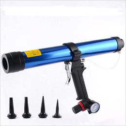 600ml pneumatic air glass glue guns air caulking gun tools