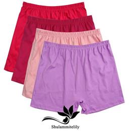 daeac90235 5pcs lot 2017 new cotton plus big size panties seamless panty women briefs  high waist ladies  underwear boyshorts 4XL 5XL 6XL