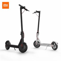 Discount scooter Original scooter xiaomi 2 Wheels Smart Electric Scooter Skate Board Adult Foldable Hoverboard M365 30km Life Mijia