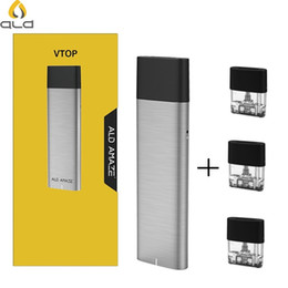 Original ALD AMAZE VTOP vape Pen Starter Kit 380mAh All-in-one E-cig Kit with 1.5ml Cartridge Electronic Cigarette Hookah pen