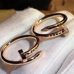 Fashion latest top design of love lovers ring 18K gold-plated stone Eternal love of the men and women wedding ring jewelry gift