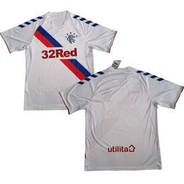 0855e175063 18 19 Rangers FC jersey Away Men Color White Size S-XL 2018 2019 rangers football  shirt Soccer jerseys