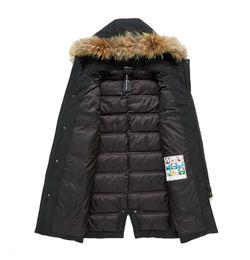 New Down Jackets Men Winter Jacket Men Fashion Thick Warm Parkas Fur White  Duck Down Coats Casual Man Waterproof Down Jackets f443ffa4f