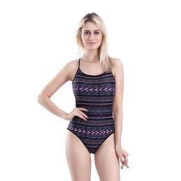 75db482c1bafa 2019 Women's Crisscross Back One Piece Swimsuit Backless Strap Cross Swimwear  Bathing Suits Deep Scoop DHL Free Bikili