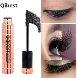 200aace47b8 QiBest Rose Gold 4D Mink Bushy Mascara Waterproof 3d Mascara For Eyelash  Extension Black Thick Lengthening Eye Lashes Cosmetics