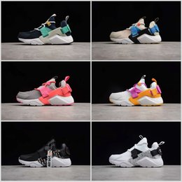 4794e5a65c7f4 2019 Cheap Sale Huarache Drift PRM City Low 5 Comfortable running shoes  Just do IT Huarache 5s V multicolor Sports Trainers Sneakers 36-45
