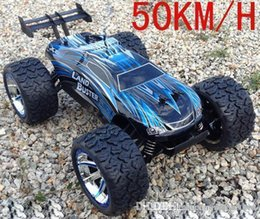 Discount rc cars Wholesale- Power 4WD off-Road Monster truck , High speed Rc Car for Hobby