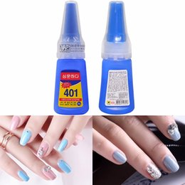 Tools Nail Glue Multifunctional 401 Instant Adhesive 20g Super Strong Liquid Glue Home Office School Nail Beauty Supplies For Wood Plasti...