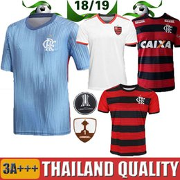 18 19 flamengo jersey 2018 2019 Flemish GUERRERO DIEGO VINICIUS JR Soccer  Jerseys Flamengo home red black sports Brazil football shirt women a7b023358