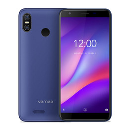 Discount mobile phones Vernee M3 5.5'' 18:9 HD+ Android8.1 Mobile Phone 3GB 32GB Quad-core Cellphone 3300mAh Face ID Fingerprint Dual 4G LTE Smartphone