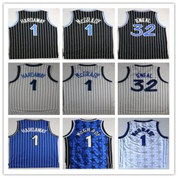 903569934e5b Best Quality Men Shirts  32 O neal embroidery Stitching  1 hardaway jerseys  Tracy McGrady basketball jersey