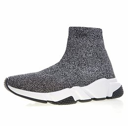 Discount boots Men Women Sock Shoes Luxury Brand Black Red CASUAL Shoes For Men Oero Trainers Boots Sneakers Designer Shoes US 5-11