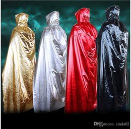 2017 halloween costumes Different 2019 Halloween Costumes God Of Death Cloak Long Tippet Sorcerer Cape Anime Cosplay Cloak For Adult