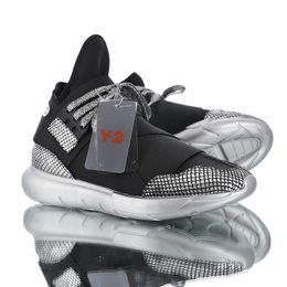 42a36c46d8de2 2019 high quality Men Casual Shoes Y3 QASA Chunky Silver Shoes Y-3 qasa  Chunky Casual Shoes Size 36-44