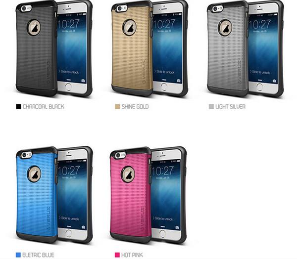 Hybrid VERUS 2 en 1 Thor petite taille Armure Slim Case pour iPhone 6 6 plus 5S 4S Samung Galaxy S5 S6 note 4 de couverture de cas