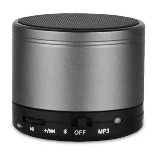 Haut-parleurs S10 Bluetooth Mini-parleur sans fil portable HI-FI lecteur de musique stéréo caissons de basse Home Audio soutien TF FM Lecteur Mp3
