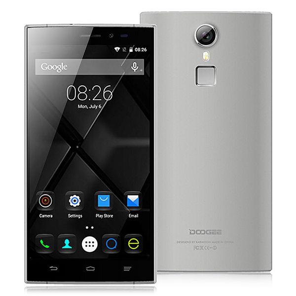 2шт DHL Оригинал Doogee F5 4G LTE мобильный телефон Android 5.1 MTK6753 64 бит Окта Основные 3 Гб оперативной памяти 16 Гб ROM, 5.5