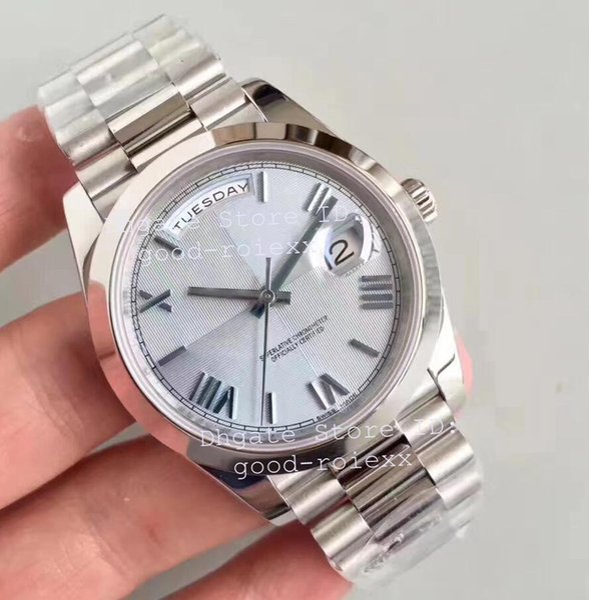 Men 039 luxury watche automatic cal 3255 men light blue dial teel day time date 228206 watch uperlative platinum n eta factory wri twa