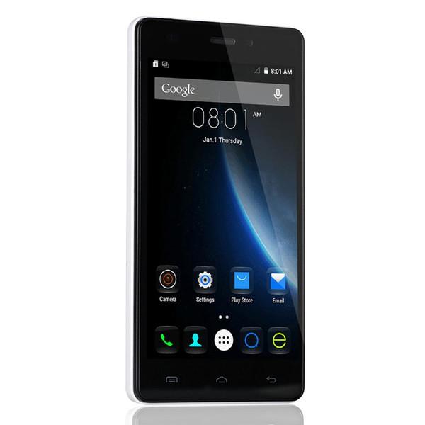 Оригинальный 5-дюймовый Doogee X5 смартфон MTK6580 Android 5.1 Quad Core HD 1G / 8G 1280 * 720 3G Dual Sim разблокирована Смартфоны EU Version