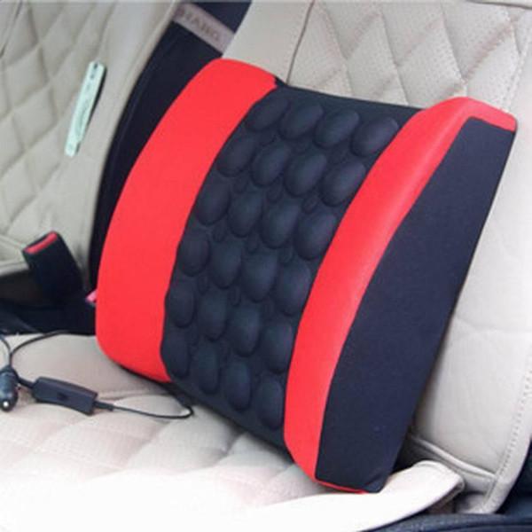 Подушка для поясницы в автомобиль своими руками