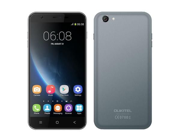 Nueva llegada Oukitel U7 Android Quad Core MT6582 reconocimiento de voz inteligente Wake 5,5 pulgadas PDA Dual Sim 3G Smartphone
