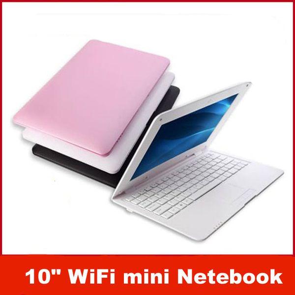 L'arrivée de nouvelles ordinateur portable de 10 pouces Dual Core Mini ordinateur Portable Android 4.2 VIA 8880 Cortex A9 1,5 GHZ, HDMI WIFI 512+4 GO /1G+8G Mini Netbook