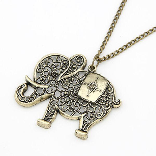 (Минимальный заказ составляет $10,смешанный заказ) мода корейский старинные слон к фото