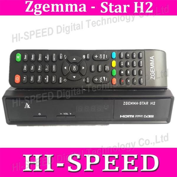 5pcs originale Zgemma H2 invece di nuvola ibox3 751MHz twin tuner DVB-S2 + Hybrid DVB-T2 / C enigma2 SAM 109 sintonizzatore linux vendita calda in Italia