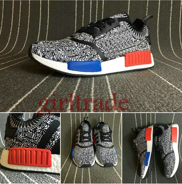 doepsx Adidas Nmd Black Grey Reflective Women Nmd Shoes Black (Price:USD