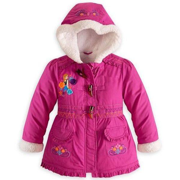 2015 Winter Girl congelata Giù cappotto imbottito PIUMINO tosano la tuta di Natale Anna Elsa bambini cappotto incappucciato Bambini Giù parka