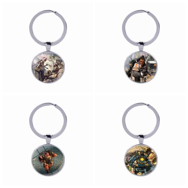 Apex legend keychain game logo key ring fan ouvenir birthday friend gift key holder fa hion jewelry acce orie new arrival